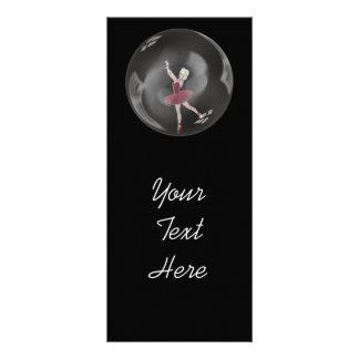 bailarina 3 de la burbuja 3D Tarjetas Publicitarias Personalizadas