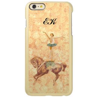 Bailarina a caballo, monograma