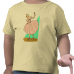 Bailarina agraciada camisetas