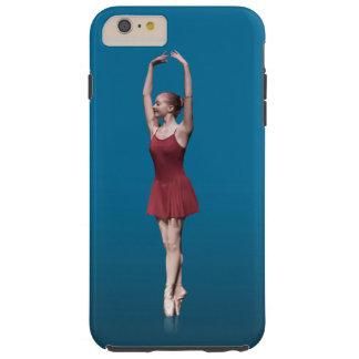 Bailarina agraciada en Pointe Funda Para iPhone 6 Plus Tough