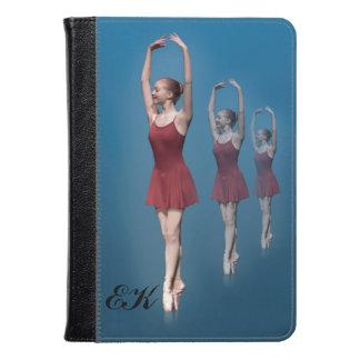 Bailarina agraciada en Pointe, monograma