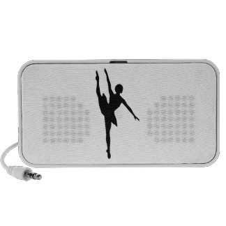 Bailarina Laptop Altavoz
