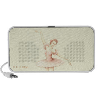 Bailarina Notebook Altavoces