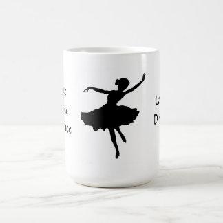 Bailarina - amores a bailar taza clásica