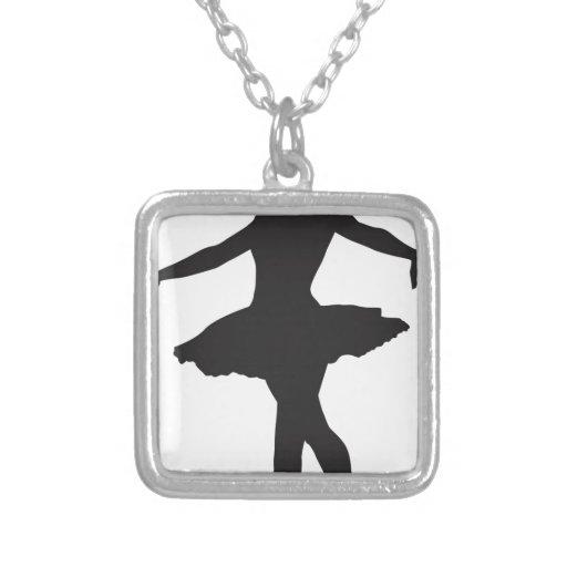 Bailarina - bailarín de ballet pendientes personalizados