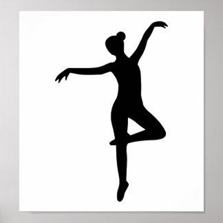 Bailarina - ballet póster