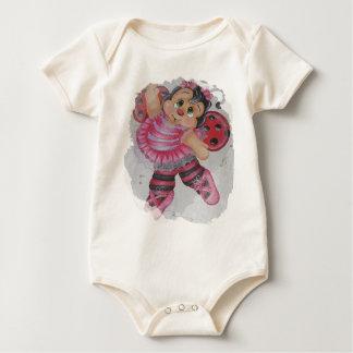 bailarina bee baby bodysuit