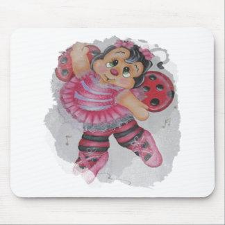 bailarina bee mouse pad