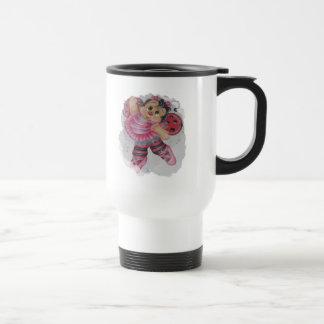 bailarina bee travel mug