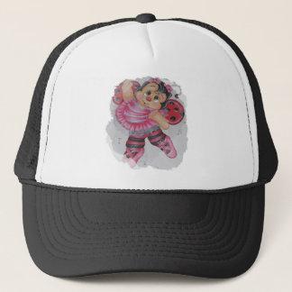 bailarina bee trucker hat