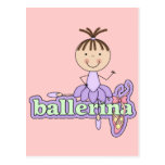Bailarina - camisetas y regalos de la lila postal