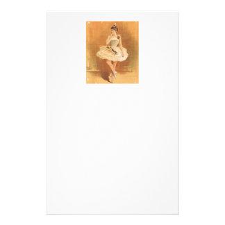 Bailarina clásica SUPERIOR Papelería De Diseño