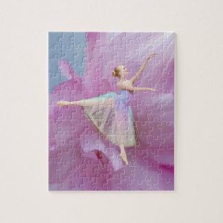 Bailarina colorida en personalizable del Arabesque Puzzles