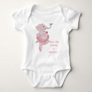 Bailarina de Elephantina Body Para Bebé