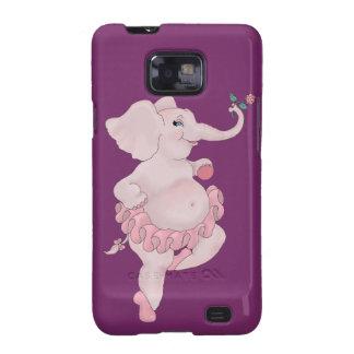 Bailarina de Elephantina Funda Para Samsung Galaxy SII