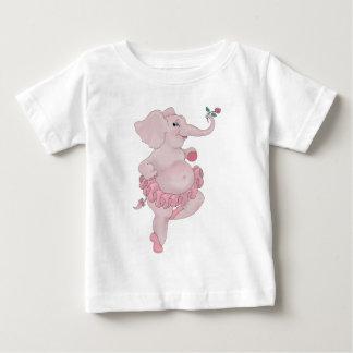 Bailarina de Elephantina Playera De Bebé
