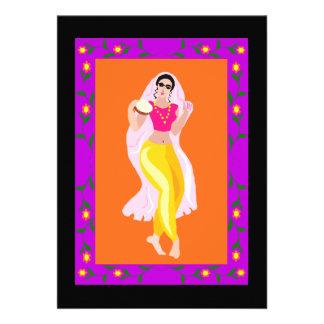 Bailarina de la danza del vientre