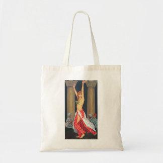 Bailarina de la danza del vientre 1993 bolsa tela barata