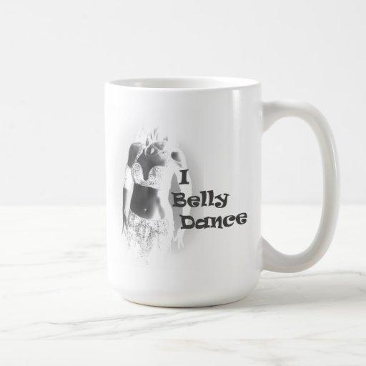 Bailarina de la danza del vientre - danza de Belly Taza