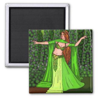 Bailarina de la danza del vientre de Helena Imán