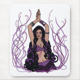 Bailarina de la danza del vientre de Umalini Mousepad
