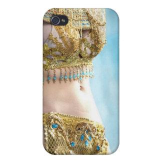 Bailarina de la danza del vientre exótica iPhone 4/4S carcasas