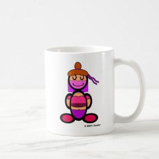 Bailarina de la danza del vientre (llana) tazas de café