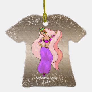 Bailarina de la danza del vientre - ornamento del ornatos