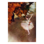 Bailarina de Prima de Edgar Degas, arte del ballet Posters