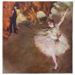 Bailarina de Prima de Edgar Degas, arte del ballet Servilleta De Papel