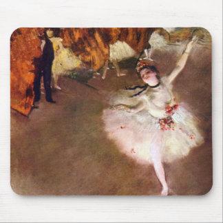 Bailarina de Prima de Edgar Degas, arte del ballet Alfombrilla De Raton