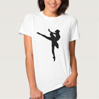 ¡BAILARINA DE PRIMA! (~ del bailarín de ballet) Playera