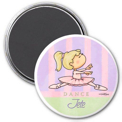 Bailarina de Prima Jete - imán del ballet