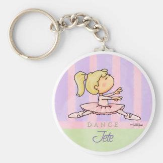 Bailarina de Prima Jete - llavero del ballet
