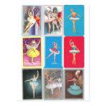 bailarina de prima postal
