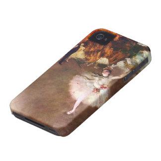 Bailarina de Prima, Rosita Mauri de Edgar Degas Case-Mate iPhone 4 Cárcasas