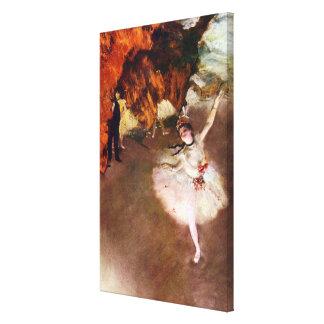 Bailarina de Prima, Rosita Mauri de Edgar Degas Impresión En Lienzo