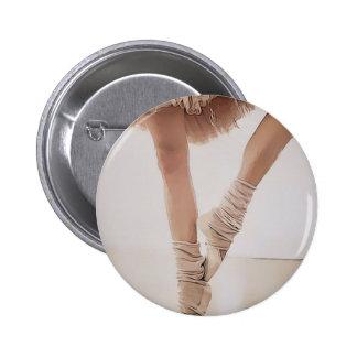 bailarina de puntillas, con el tule