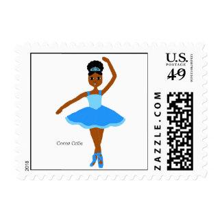 Bailarina del azul de Cuties del cacao Sello