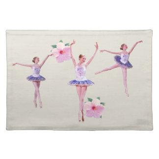 Bailarina del baile, personalizable, Placemat Mantel Individual