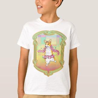 Bailarina del Corgi Galés del Pembroke Camisas