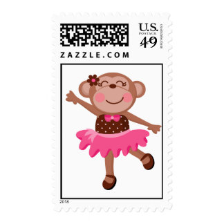 Bailarina del mono sellos
