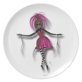 Bailarina del zombi de Sasha Plato De Cena