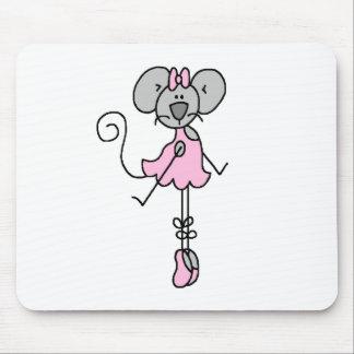 Bailarina dos Mousepad del ratón