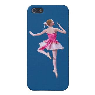 Bailarina en azul iPhone 5 funda
