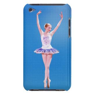 Bailarina en azul iPod Case-Mate funda