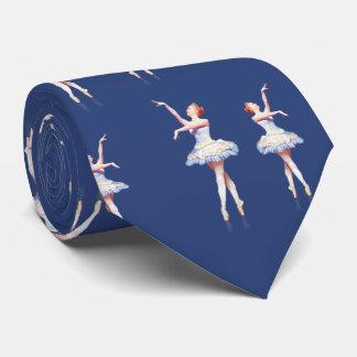 Bailarina en el personalizable de Pointe Corbatas Personalizadas