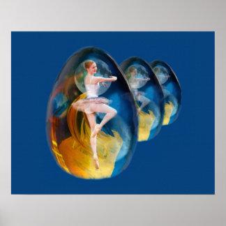 Bailarina en la galaxia extranjera póster