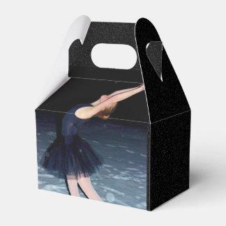 Bailarina en la nieve - cajas para regalos