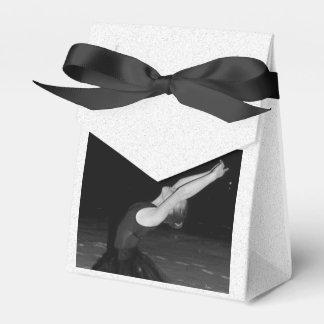 Bailarina en la nieve - cajas para regalos de boda